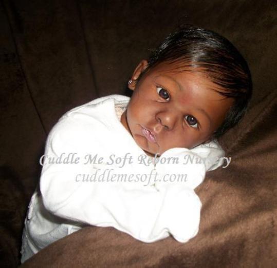 Cuddle Me: Lifelike Reborn Baby, AA/ Ethnic Reborn Dolls For Sale