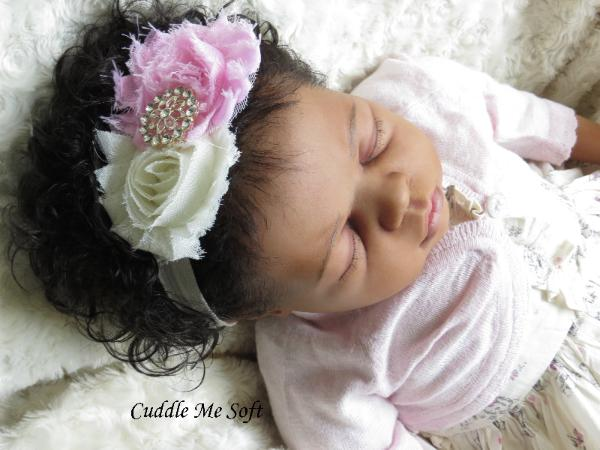 Biracial Reborn Baby Girl for adoption by Fay O'Neal