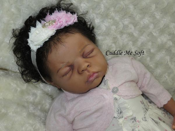 Ethnic Reborn Baby Girl by Fay O'Neal
