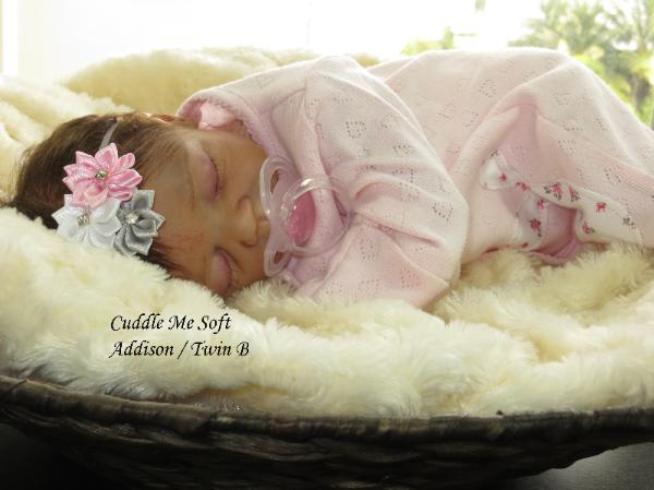 Adorable Reborn baby girl by Fay O'Neal