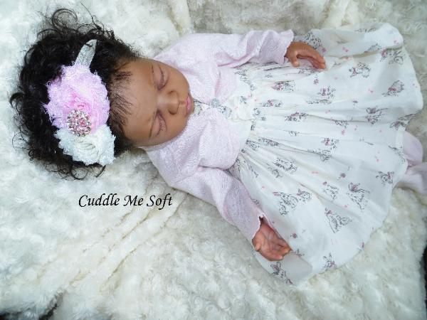 Adorable Reborn Baby Girl for Sale - www.cuddlemesoft.com