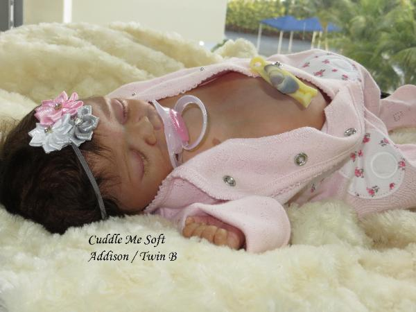 newborn reborn baby girl for sale by Fay O'Neal