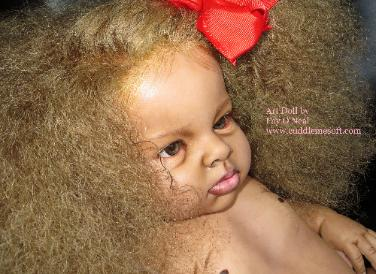 Biracial Reborn Baby for sale