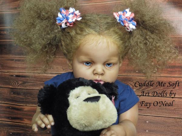 Adorable Reborn Toddler for sale by Fay O'Neal