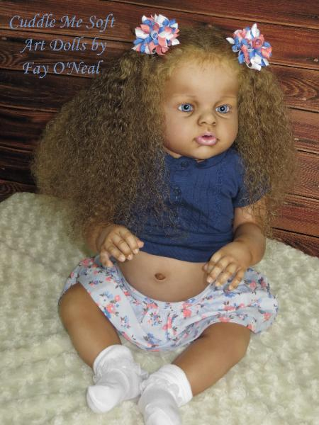Lifelike Reborn Toddler by Fay O'Neal