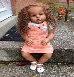 Lifelike Biracial Reborn Baby for sale