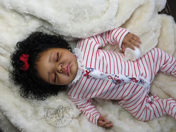 Reborn baby girl for adoption by Fay O'Neal