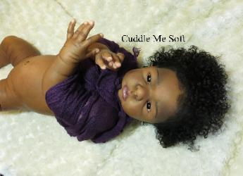 Ethnic Ava Raine Reborn Baby Girl For sale, Biracial Reborn Dolls for Sale