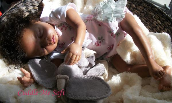 Biracial / Ethnic Reborn Baby Girl For Sale