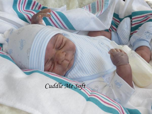 Realistic Reborn Baby Boy for sale by Fay O'Neal