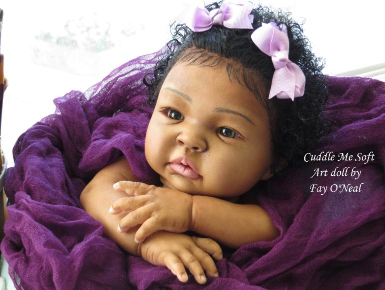 AA / Ethnic Reborn Baby Girl for sale - Shyann by Aleina Peterson