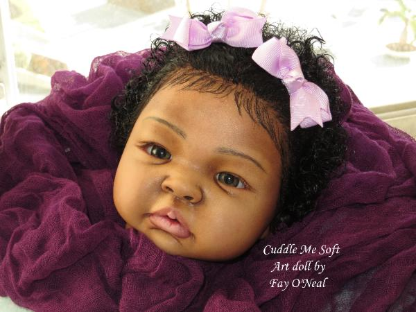 AA / Ethnic Reborn Baby Girl for sale -  By Fay O'Neal