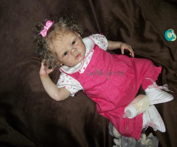 Adorable Reborn Baby Girl For Sale