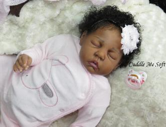 cuddle me soft reborn nursery adopted