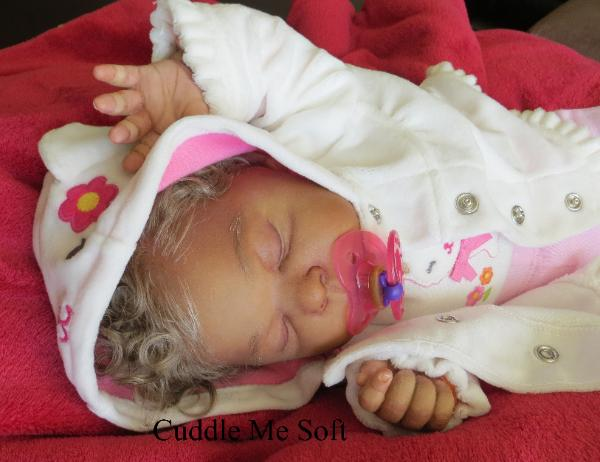 Realistic Newborn Reborn Baby Girl For Sale