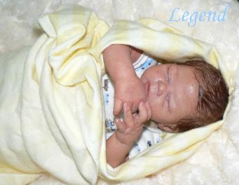 Adorable reborn baby boy