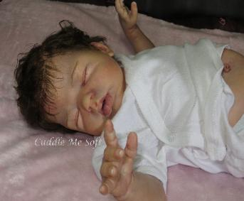 lifelike reborn dolls, Realistic Reborn Baby Girl for sale - Sweet Caroline by Marita Winters