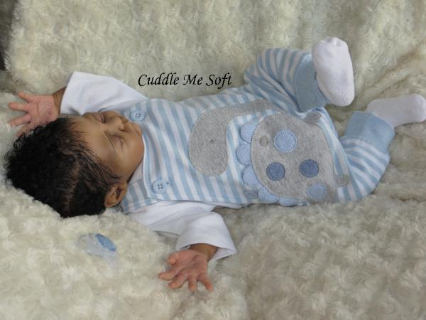 Biracial reborn doll for sale