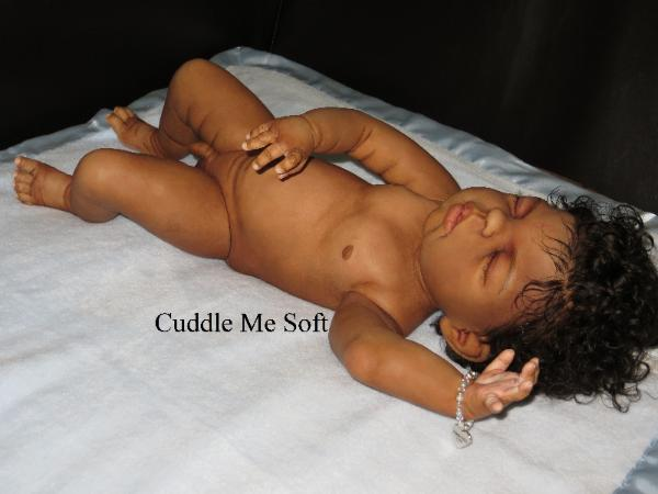 Full Body AA / Ethnic Reborn Baby Boy  For Sale