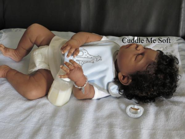 AA / Ethnic Reborn Baby Boy  For Sale - Xavier Sheila Micheal Kit